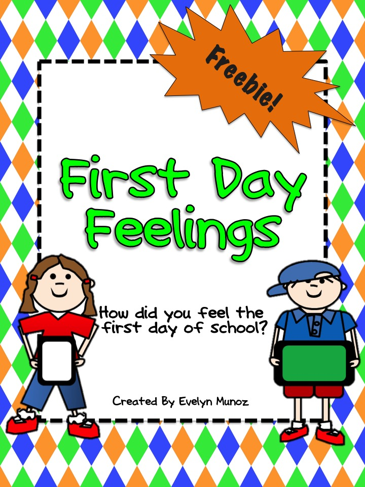 First Day Feelings Portrait   In the Land of Teaching