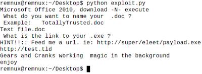malicious ole file