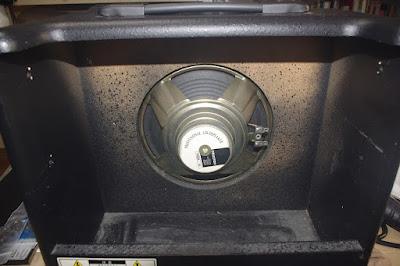 8 inch Celestion Speaker is mounted