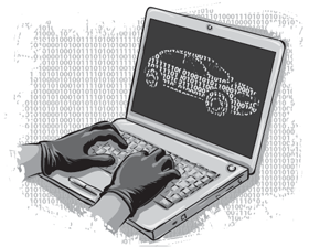Hackers Demonstrate Car Hacking using a laptop