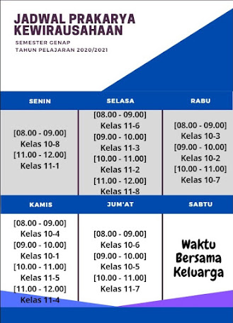 Jadwal Pelajaran