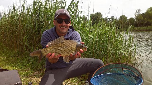 Pesca à inglesa à carpa