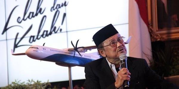 4 Karya BJ Habibie yang Bikin Bangga Indonesia