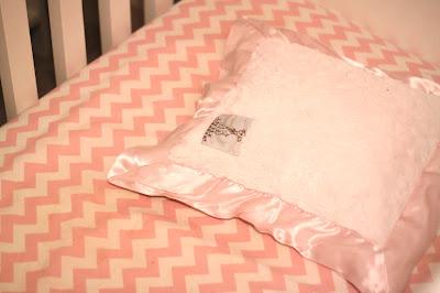 Little Giraffe luxe toddler pillow is so soft