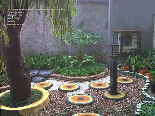 Taman kering | indoor jasa tukang taman surabaya