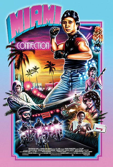 Movie poster for Drafthouse Films 1987 cult classic Miami Connection