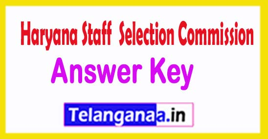Haryana HSSC SEPO Panchayat Officer Answer Key 2018