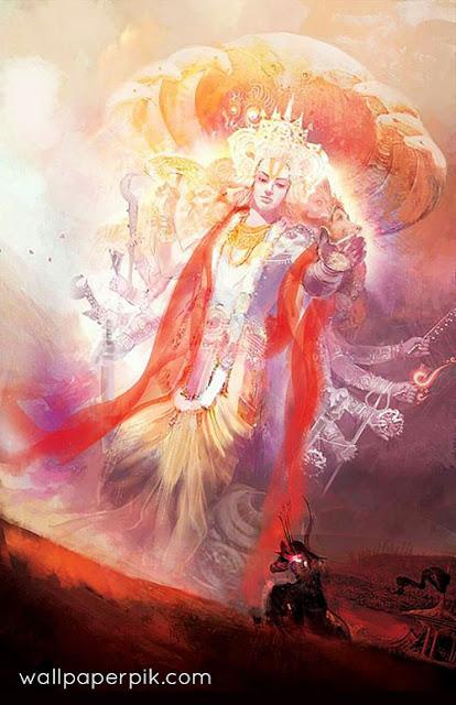 विष्णु नारायण कृष्ण भगवान का विराट सवरूप फोटो डाउनलोड करना है