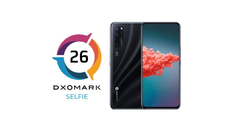 DxOMark: ZTE Axon 20 5G's under-display selfie cam disappoints, scores 26 points