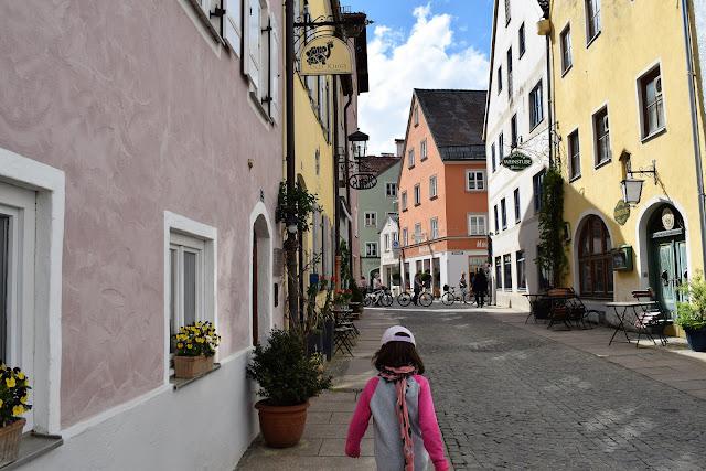 Vie del Centro Storico a Fussen