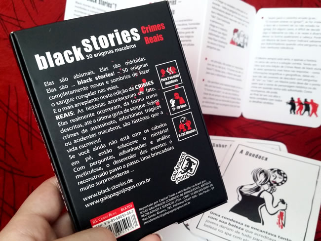 Black Stories 50 Enigmas Macabros