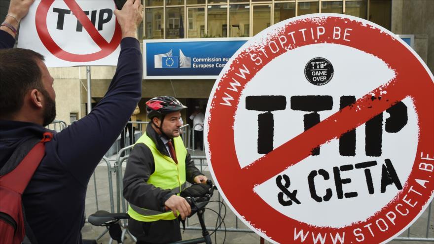 Francia ya no apoya negociaciones para el acuerdo comercial TTIP
