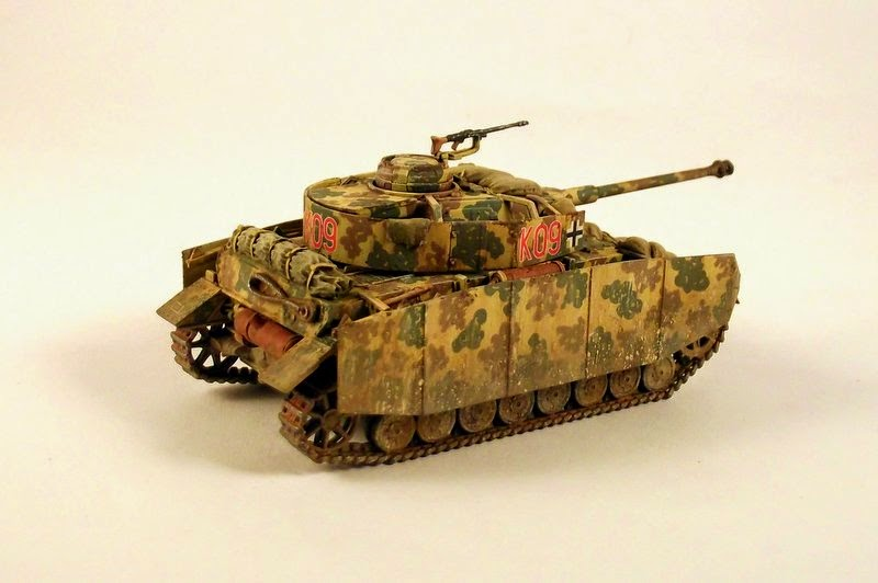 Gulumik Military Models: Panzer IV ausf H 1/72 Revell - Gallery