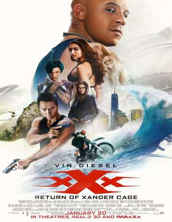 Poster Of xXx: Return of Xander Cage 2017 Hindi Dubbed 700MB pDVD x264 Free Download Watch Online downloadhub.net