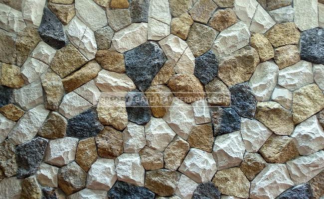 batu alam tiga warna