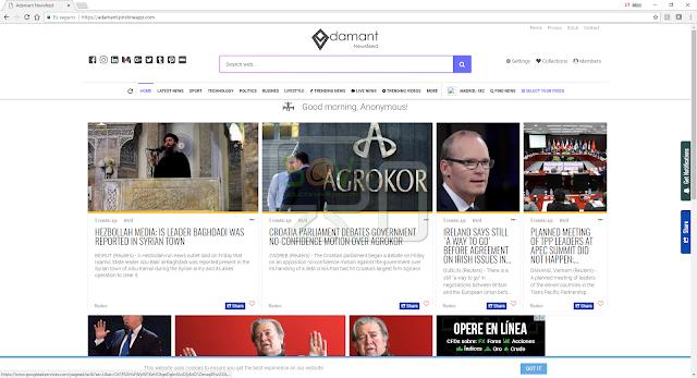 Adamant.pristineapp.com (Hijacker)