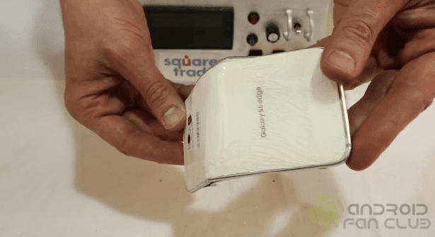 Samsung Galaxy S6 Edge Bend Test Video