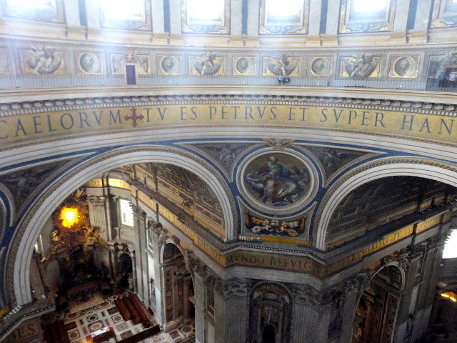Cupola of St Peter's Basilica, Vatican City State | Rome, Italy