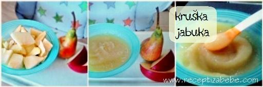 Kruska i jabuka za bebe
