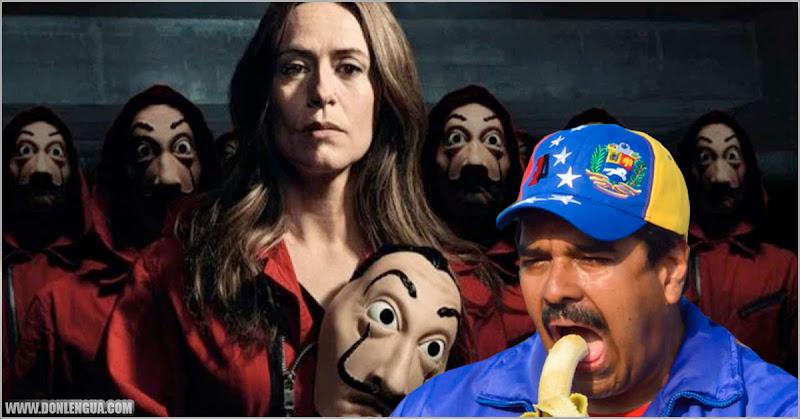 La actriz de La Casa de Papel quiere venir a una premier en Venezuela invitada por Maduro