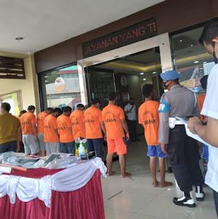 Polres Pelabuhan Tanjung Priok Tangkap  11 Orang di  Wilayah Kerja Pelabuhan Tanjung Priok