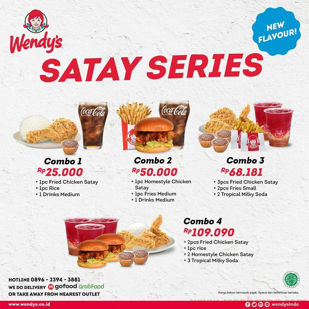 Wendys Satay Series