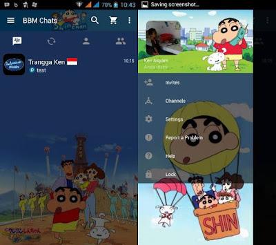 Download BBM MOD sinchan V3.0.0.18 Apk Terbaru