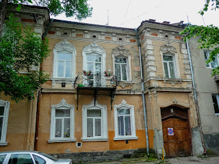 Стрый. Жилая и общественная застройка исторического центра