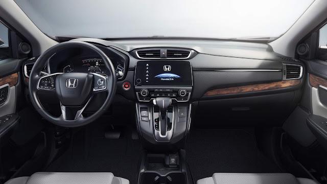 Novo Honda CR-V 2017 - interior - painel
