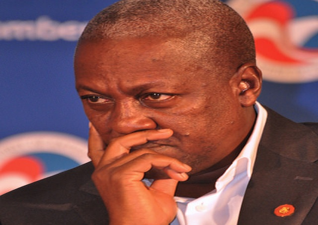 President Mahama gets Red Card