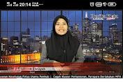 Belajar Jadi Presenter dan Wartawan, Mahasiswa Komunikasi Unismuh Ini Bangga Magang pada Industri  Media Massa