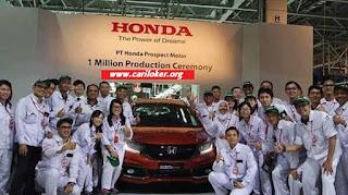 Lowongan Kerja Operator Produksi Terkini PT Honda Prospect Motor (HPM)
