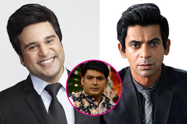 Krushna replace Sunil