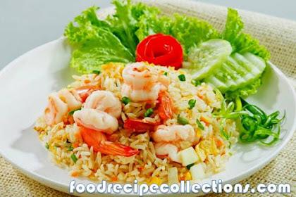How to Make Shrimp Fried Rice ( SEAFOOD)