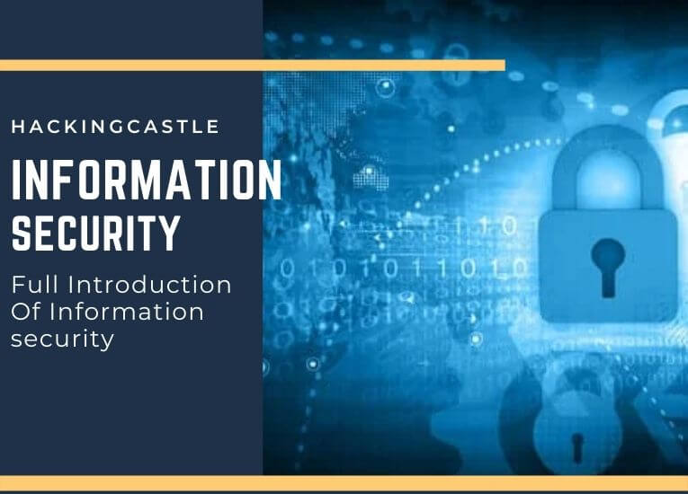 Information Security : Introduction, Principle and Defence