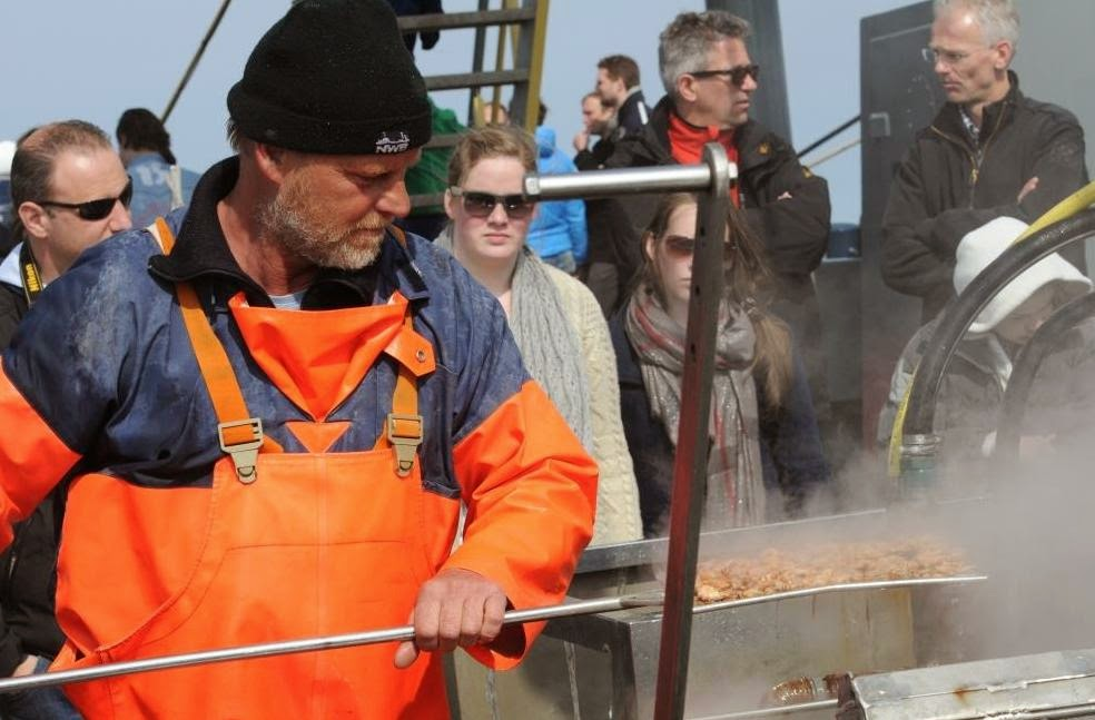 kotter texel, vissers texel, garnalenvissen in texel, vakantie texel, waddenzee