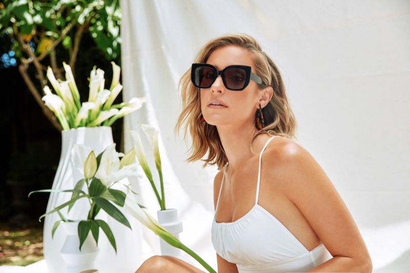 Kristin Cavallari stars in Uncommon James x DIFF Eyewear campaign.