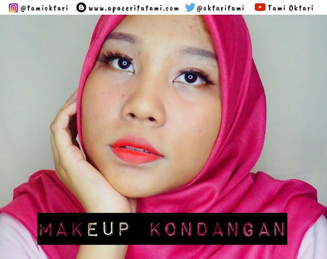 [TUTORIAL] Makeup Kondangan Menggunakan Produk Drugstore
