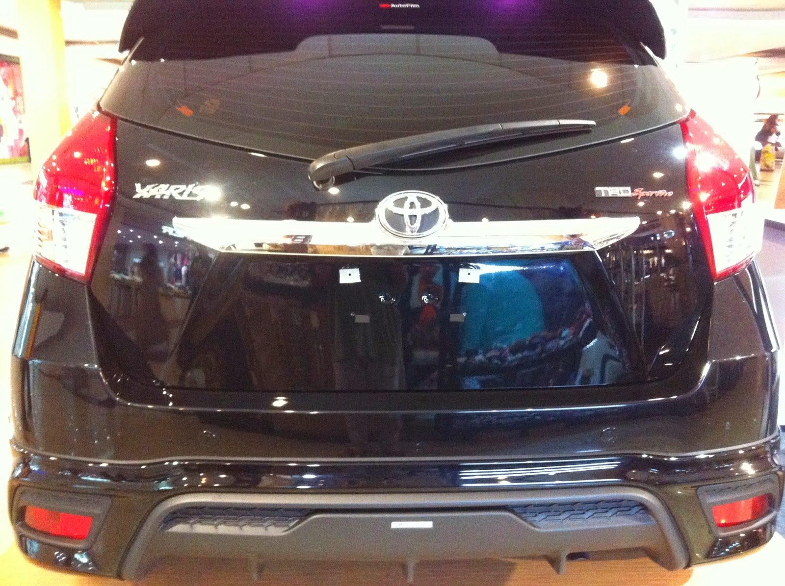 Harga Toyota New Yaris Trd 2014 Inner Grill Grand Avanza First Impression All Andra