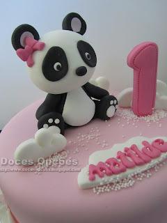 panda cake girl