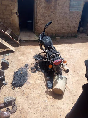 Photos from herdsmen attack in Plateau state; four killed, Church, hospital and 17 houses razed