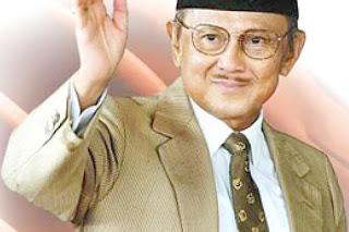 Biografi BJ Habibie Lengkap