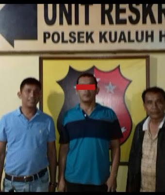 Unit Reskrim Polsek Kualuh Hulu Tangkap Pelaku Penganiayaan