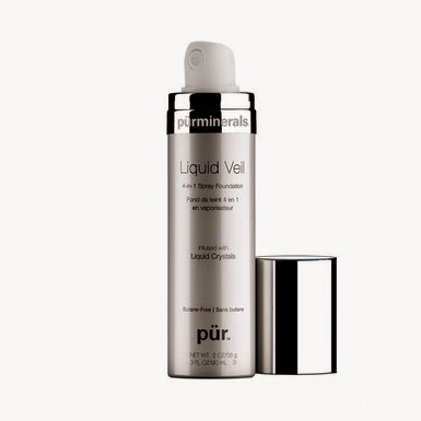 Pur Minerals Liquid Veil 4-in-1 Spray Foundation