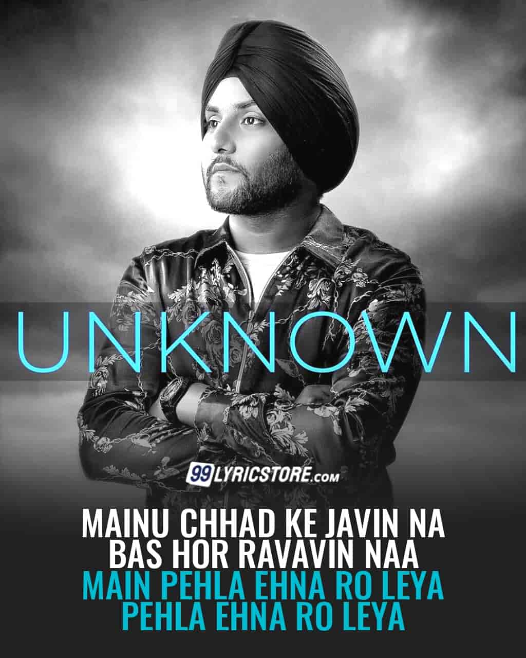 Unknown punjabi song lyrics sung by Mehtab Virk