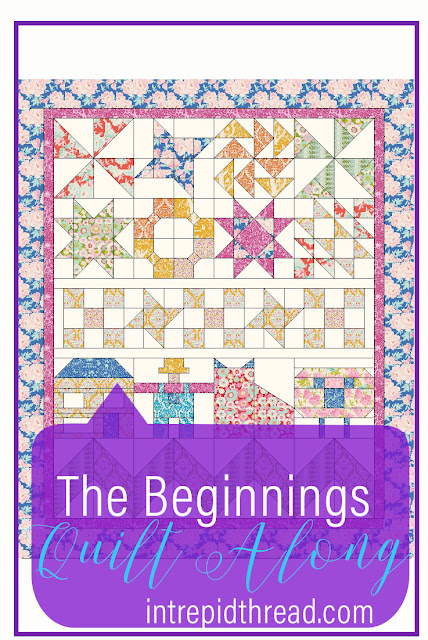 The Beginnings Quilt Along - A Free Quilt Along for Beginner Quilters