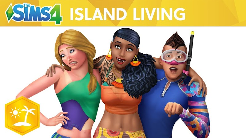 THE SIMS 4 PATCH UPDATE ISLAND LIVING EXPANSION