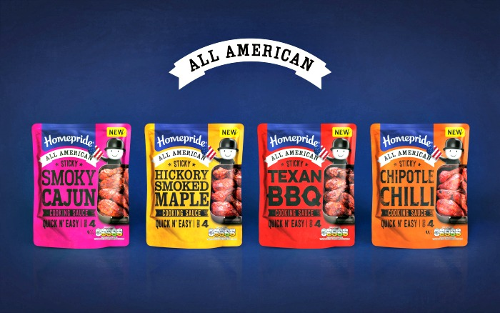 Homepride All American Sauces