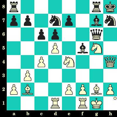 Les Blancs jouent et matent en 2 coups - Ratmir Kholmov vs Y Kliavinsh, Vilnius, 1955