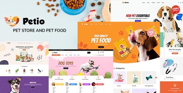 Petio v1.0.2 - Pet Store WooCommerce WordPress Theme